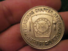 Vintage Hartford Connecticut Masonic One Penny Token Coin Medal