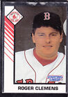 1993  ROGER CLEMENS - Starting Lineup Card - SLU - Boston Red Sox (White)