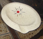 CLEMINSONS Art Studio Pottery 50s AtOmIc Starburst Small ASHTRAY Space Age Jaru