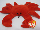 DIGGER the CRAB  - RED VERSION-TY BEANIE BABY Date of birth: 8-23-95