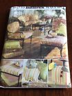 Butterick Pattern 4759 Waverly Outdoor Patio Cushions, Pillow Cover, Bag