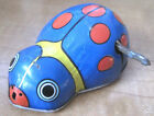 Vintage Shackman New York Wind-up Ladybug Tin Toy
