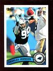 (50) 2011 Topps #261 Charles Johnson Carolina Panthers Football Cards Lot MINT