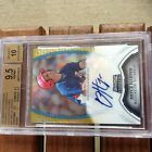 2011 Bowman Sterling Bryce Harper GOLD REFRACTOR AUTO BGS 9.5 10! #25 50