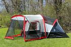 Tahoe Gear Zion 9 Person 3 Season Camping Tent And Screen Porch  TGT ZION 9 B
