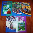 Abeka Grade 4 Reading Lot 5 Readers Trails to Explore Liberty Tree and 3 MORE