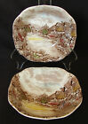 Johnson Brothers Olde English Countryside 7 1/8 Inch Square Soup Bowl