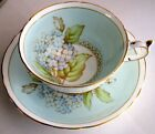 Paragon RARE Fancy Lilac Fine Bone China Cup & Saucer 1950s