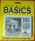 Bar Mills #0794 (O Scale) Crossing Shanty Kit (Laser Cut & Resin/Metal Parts)