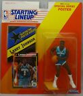 1992 LARRY JOHNSON - Rookie Starting Lineup - SLU Figurine - CHARLOTTE HORNETS