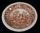 Copeland Spode six inch Tea Coffee Cup Saucers Pink Tower design old back stamp