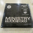 Ministry Trax! Box RSD limited vinyl LP + 7 x CD feau-leather box set + 64p book