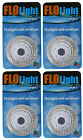 4 LED Swimming Above Inground Pool Flo Lights Wireless Universal Return 4 Pack