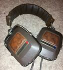 Retro/Vintage Koss K/145 Leather & Chrome Finish Audio Portable Headphones LOOK!