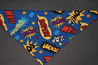 Dog Bandana OVER THE COLLARclothes pet Size SMLXL Superhero Chat