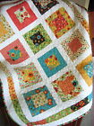 Patchwork QUILT PATTERN Layer Cake or Fat Quarters Quick and easy beginner