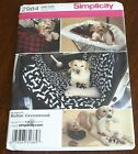 Simplicity Pattern 2984 Travel Accessories for Dogs, Car Seat Cover, Cart Cover