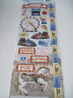 Scrapbooking Stickers Cardstock Paper House 13 Carnival Ferris Wheel Tickets