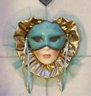 Clay Art Ceramic Face Wall Mask, Decorative Wall Hanging, EXTREMELY RARE