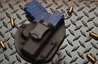 Walther PPS Black Leather Kydex Hybrid Gun Concealment Holster IWB Right Handed