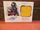 National Treasures Autograph Colossal Jersey Auto Adrian Peterson 03 10 2012