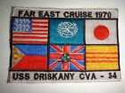 Vietnam War FAR EAST CRUISE 1970 USS ORISKANY CVA-34 Patch