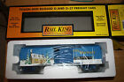 MTH club box car Happy Holidays Brand new in the box Mint