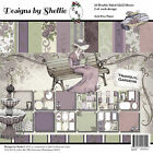 DESIGNS BY SHELLIE TRANQUIL GARDENS 12 X 12 PAPER COLLECTION