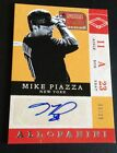 2013 PANINI AMERICA'S PASTIME MIKE PIAZZA AUTO AUTOGRAPH 6 39 METS NICE