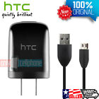 ORIGINAL HTC Charger Brand New Black 1A Home Travel Wall Charger HTC Data Cable