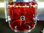 Crush Drums RED Acrylic 16