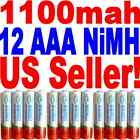 DigiMax Rechargeable 12 AAA 1100mAh battery Ni-MH-US Seller Fast Shipping*****/!
