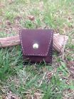 Hand-Made Leather Rifle 5 Round Cartridge Carrier Ammo / Hunting / Shooting