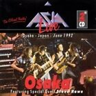ASIA - LIVE IN OSAKA  - BRILLIANT 2CD ALBUM - OSAKA, JAPAN, SEPTEMBER 1992