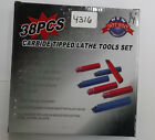 CARBIDE TOOL BITS LATHE CUTTING C6 GRADE 38 PCS 1 4 NEW PIC 4316