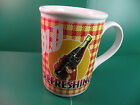 Coca Cola Mug Cup DRINK ICE COLD REFRESHING Coke Gibson Ceramic Large A4