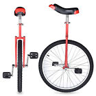 24 Butyl Tire Chrome Unicycle Wheel Cycling Mountain Exercise Balance Fitness