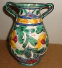 Authentic Vintage Italian Vase All Hand made Dated on bottom July 7-13-47