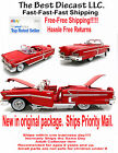 Motormax Chevrolet chevy Impala 1958 Convertible Red 1/18