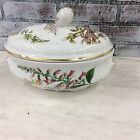 SPODE CHINA STAFFORD FLOWERS  2 QT. OVAL Covered CASSEROLE -OVEN TO TABLE