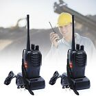 2pcs Walkie Talkie UHF 400-470MHZ 2-Way Protable Radio 16CH BF-888S Long Range