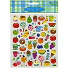 Scrapbooking Crafts Stickers Sticker King Food Faces Fruit Candy Cupcakes Donuts
