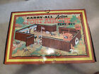 Vintage Louis Marx Carry-All Fort Apache Play Set Suitcase Toy 1968 Complete?