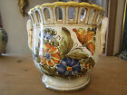 VINTAGE 1960'S MEISELMAN IMPORTS NEW YORK POTTERY MADE IN ITALY PLANTER  VASE