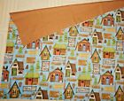 SWEET CABIN FOR RENT CAMPGROUND CANOES HIKING OVERNIGHT CAMPING COTTON FABRIC