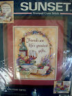 Sunset The Greatest Gifts Stamped Cross Stitch Needlepoint Kit 13121  11