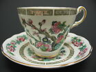 Royal Ardalt ENGLAND Bone China INDIAN TREE Cup and Saucer, Gold Trim  Excellent