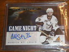 11 12 PANINI PINNACLE MARTIN ST. LOUIS GAME NIGHT SIGNATURES AUTO SP 50 RARE