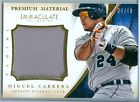 2014 IMMACULATE (BB) Miguel Cabrera SP GM-USED JUMBO JERSEY CARD (#23) #d 34/49