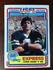 1984 Topps USFL 132-card Football Factory Set Steve Young & Jim Kelly Rookies